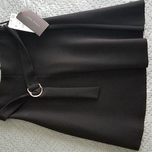 Zara Black Flare Skirt